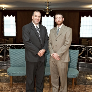 l-r: James Combs and Zachary Bloomfield