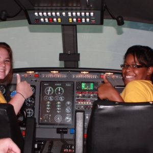 OBAP students fly the ALSIM