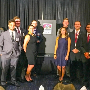 EKU Aviation students attend the SEC-AAAE Conference